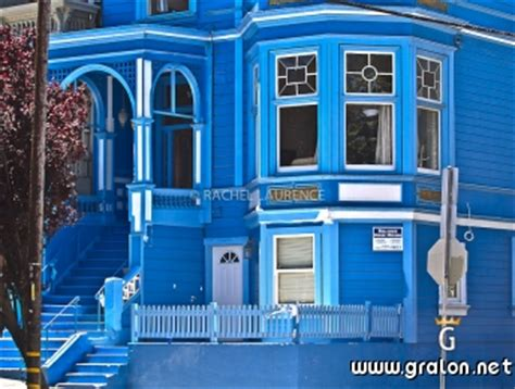 photo une bleue haight ashbury san francisco