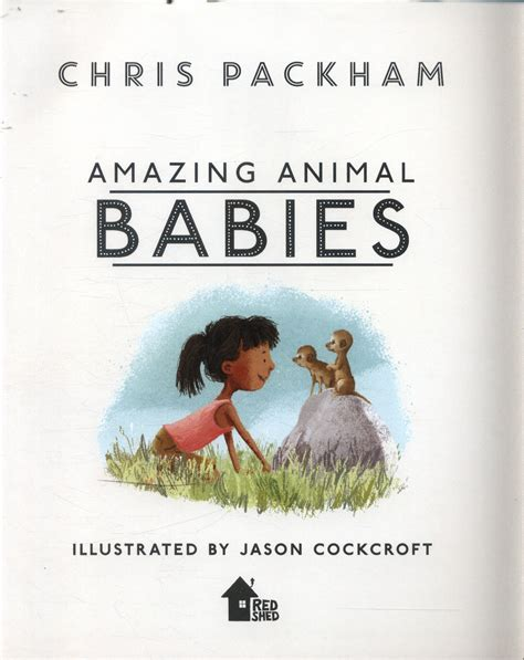 amazing animal babies by packham 9781405284288 brownsbfs