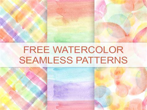 watercolor check pattern freebie 3 watercolor seamless patterns by natalya