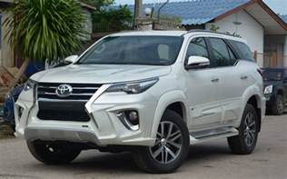 Isuzu 4x4 Suv Comparison Toyota Fortuner 4x4 Gx 2016 Vs Isuzu Mu X