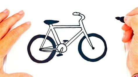 Imagenes De Bicicletas Faciles Para Dibujar | c 243 mo dibujar una bicicleta paso a paso dibujo f 225 cil de