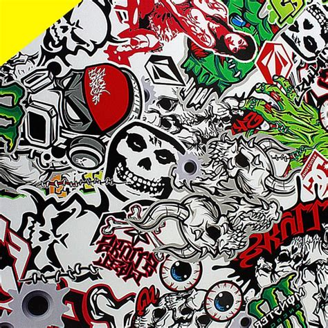 wallpaper graffiti tengkorak online buy grosir lembar stiker tengkorak from china