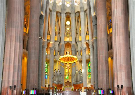 karensfavoritephotos the interior of the sagrada familia