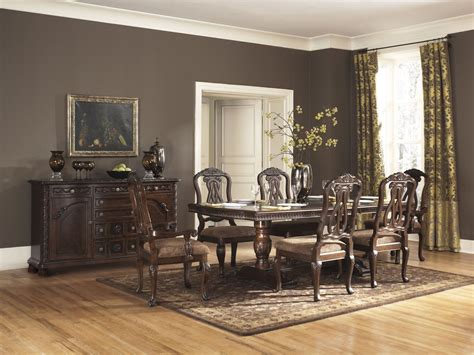 north shore dining room set north shore pedestal dining room set ashley furniture