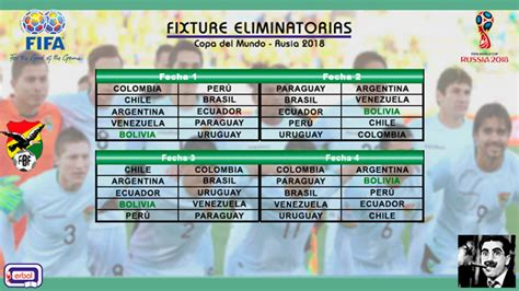 Calendario Eliminatorias Rusia 2018 Excel Un Rol De Partidos Diferente Que Bolivia Deber 237 A