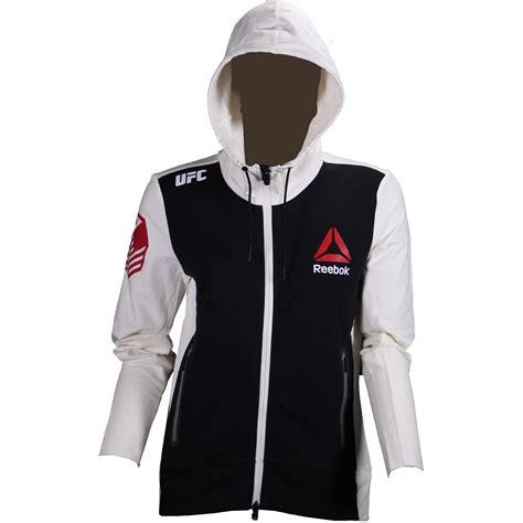 Jaket Hoodie Zipper Ufc Ronda Rousey Reebok reebok womens ufc ronda rousey walkout hoodie ebay