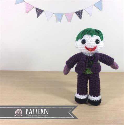 amigurumi joker pattern joker amigurumi crochet doll pattern