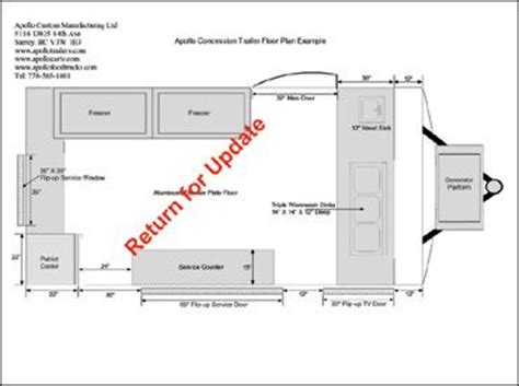 grocery store floor plans exles 12ft concession trailer floor plan exle 2 food truck