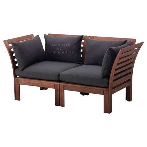 chair settee modern wooden sofa