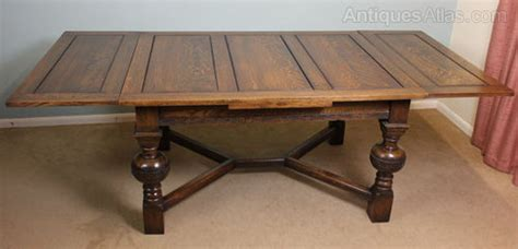 Antique Dining Table With Leaves Antique Draw Leaf Extending Dining Table Antiques Atlas