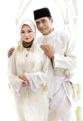 film malaysia aku terima nikahnya gambar hari pernikahan nora danish adi putra gossip