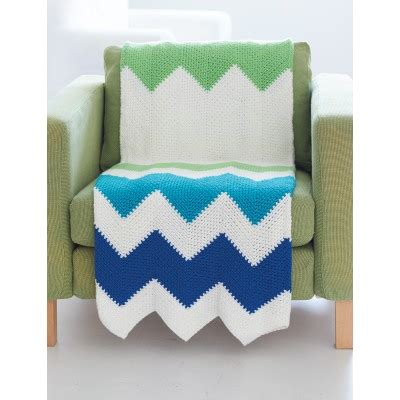 zig zag baby blanket by knit culture studio free knitted caron zigzag blanket crochet pattern yarnspirations