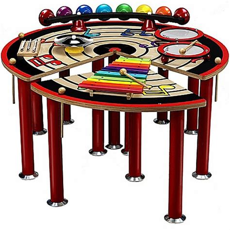 Musical Table by Anatex Musical Slices Of Activity Table Educational