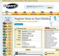 copart usa source car auctions home page html