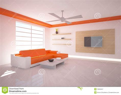 orange interior design orange interior design royalty free stock photography