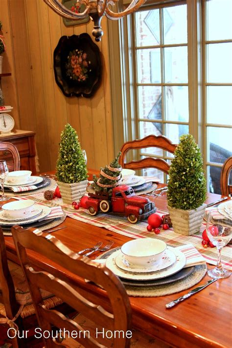 southern country home decor christmas decorating with cars our southern home