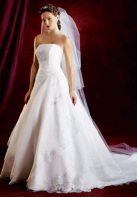 weisses brautkleid big white wedding dress designs wedding dress