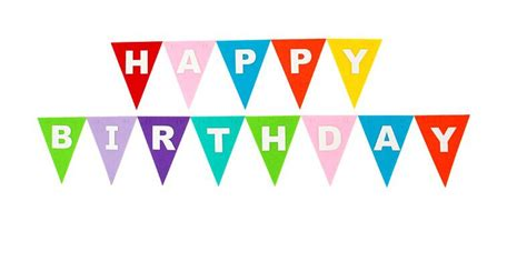Bunting Flag Happy Annivesary happy birthday partyware hanging decoration garland bunting banner buy happy
