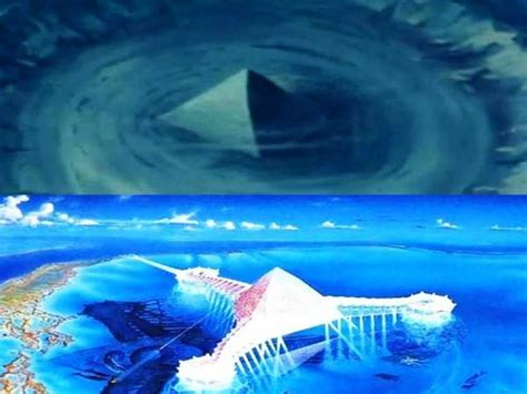 bermuda triangle underwater two underwater pyramids discovered in the