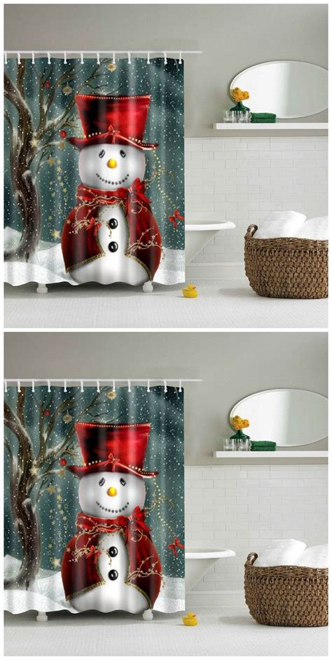 christmas shower curtains and towels 1000 ideas about christmas shower curtains on pinterest