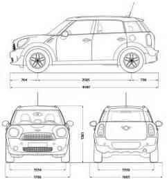 Mini Cooper Countryman Dimensions Dimensioni Mini Countryman Prezzi E Dimensioni Auto
