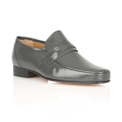 buy rombah wallace regent grey leather shoes
