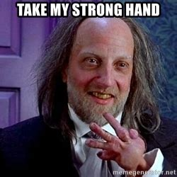 Take My Strong Hand Meme - strong hand hanson meme generator