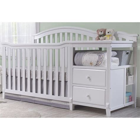 Changing Table On Crib 25 Best Ideas About Crib With Changing Table On Simple Baby Nursery Project