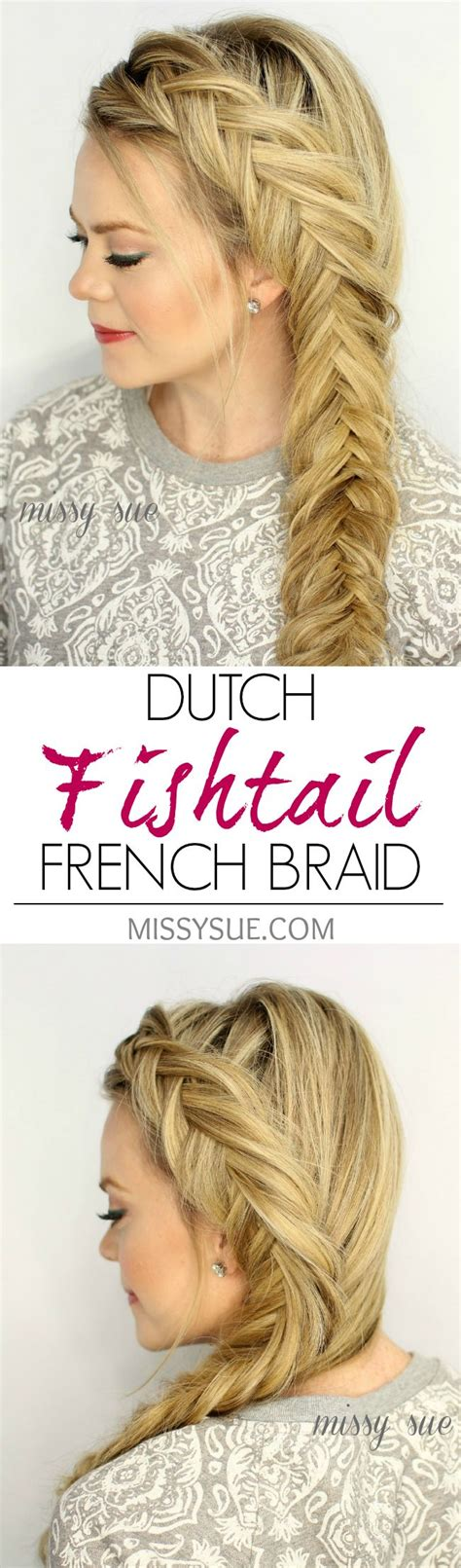 15 fishtail braids you should 15 diy braided hair tutorials for winter pretty designs
