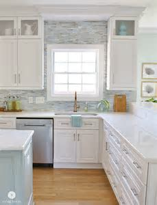 Coastal Kitchen Makeover   the reveal