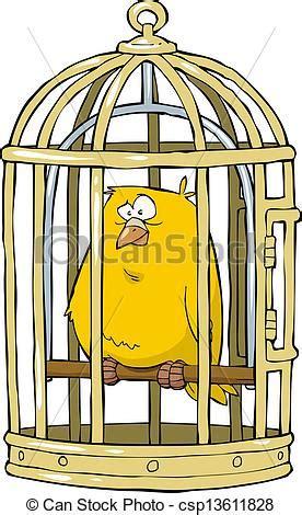 canarino in gabbia illustrazioni vettoriali di canarino in 224 uccello