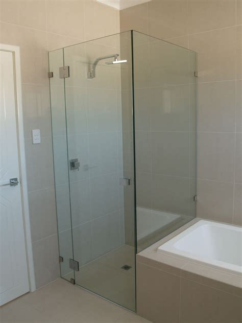 glass bath shower screen shower screens perth frameless and semi frameless