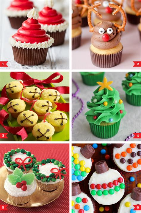 easy decorating ideas for christmas cupcakes christmas