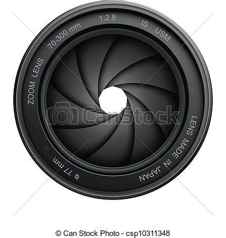 カメラ, シャッター カメラ, レンズ, シャッター, 隔離された, 上に, 白 csp10311348のeps