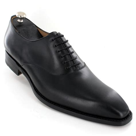 chaussures de luxe cuir noir vente achat chaussures de luxe