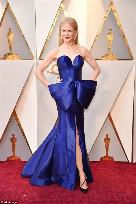 Oscars 2008 The Looks That Stole The Show by Kidman Stuns At Oscars In More Than 84 Carats Of