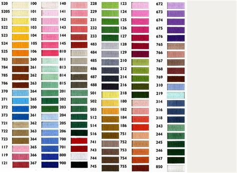 thread color chart thread color chart promotional products supplier jin sheu