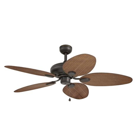 Shop Harbor Breeze Tilghman 52 In New Bronze Indoor Harbor Ceiling Fan Light