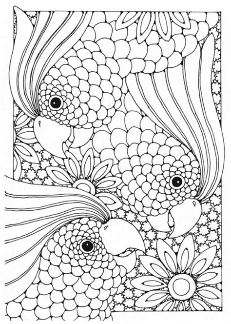 complex coloring pages of animals complex animal coloring pages