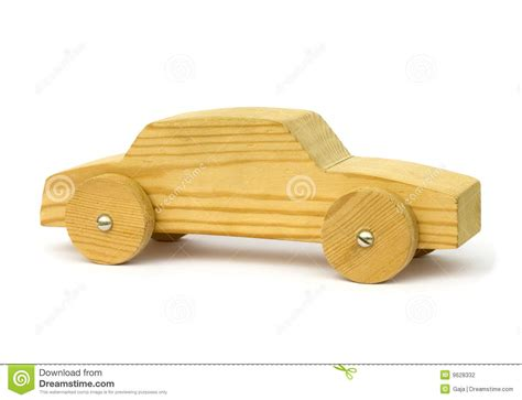 home  wood toy car stock photo image  carved white