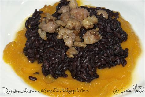 riso nero come cucinarlo deglutinevolissimevolmente riso nero