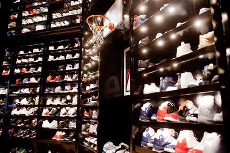 Michael Shoe Closet the immaculate homes of our favourite athletes elite