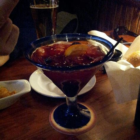 Beveraged Black Yummi black and blue margarita from longhorn drinks