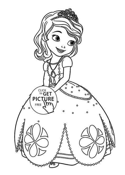 printable coloring pages sofia the sofia the coloring pages for printable free