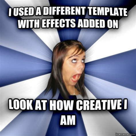 Annoying Facebook Girl Meme - image 294302 annoying facebook girl know your meme