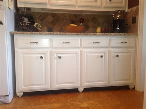 Kitchen Cabinet Kick Plate Make Built Ins Look Like Free Standing Furniture Paint Cabinet Kickplate A Color I Used
