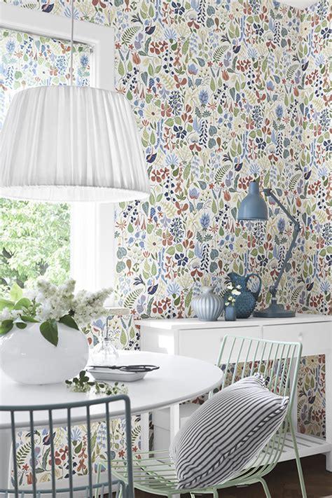 wallpaper danish design herbarium 2743 wallp by scand des bor 229 stapeter