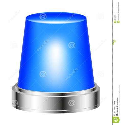 red and blue strobe blue flashing siren stock images image 22961244
