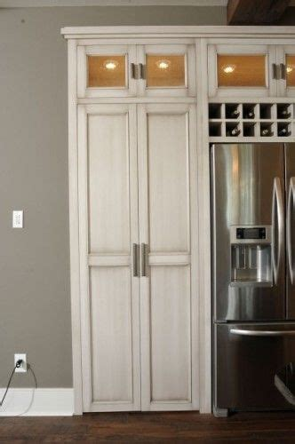 pantry doors and pantry on