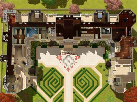 Mod The Sims Grothfort Castle Sims 3 Castle Floor Plans